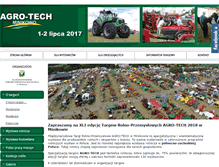 Tablet Preview of agro-tech-minikowo.pl